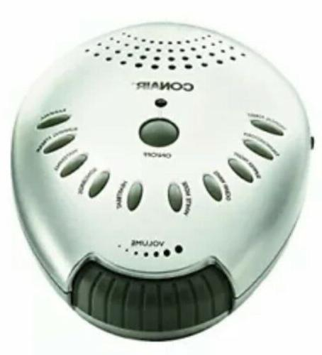"""Conair Relaxing Sound Therapy Machine 10 Soothing Sounds - New Box"""""""