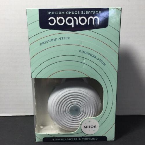 rohm portable sound machine new sealed