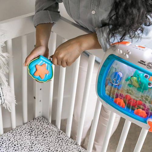 Baby Soother Crib and Machine, +