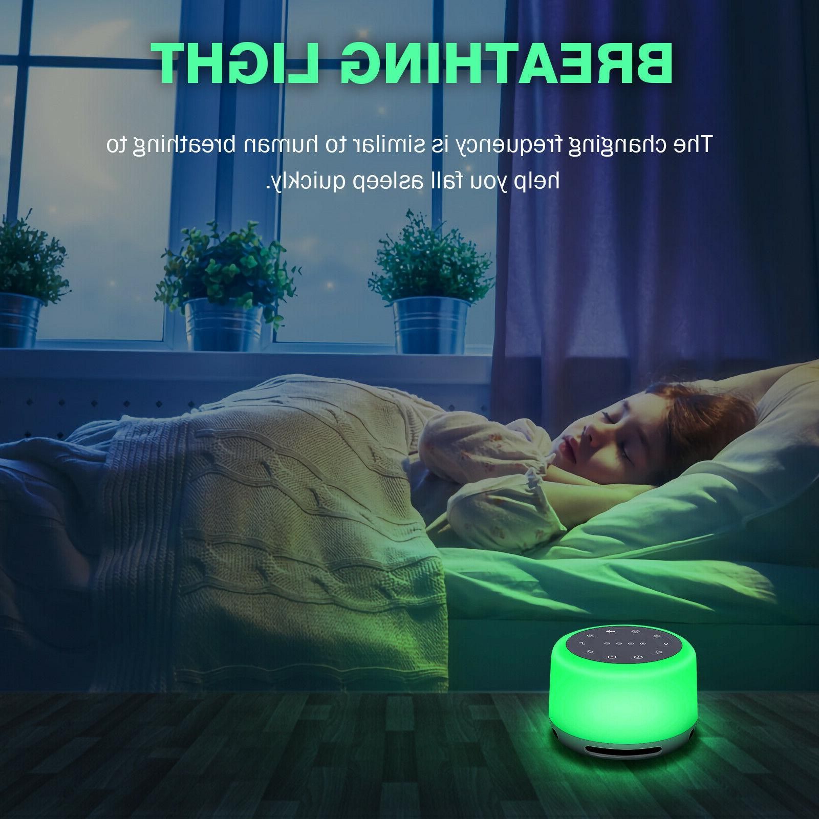 Sleep Sounds Rechargeable White Machine with