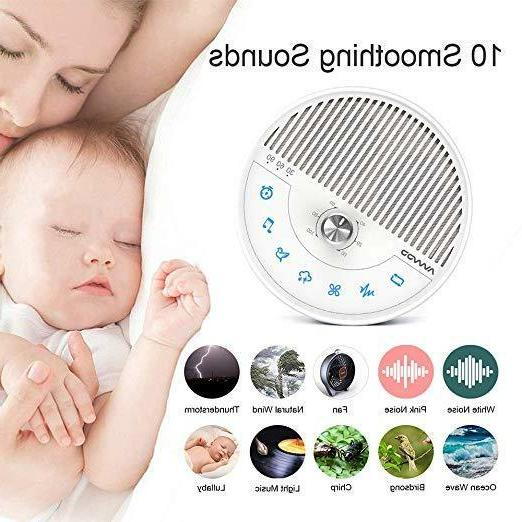 Sleeping Sound Machine Noise Built-In Kids