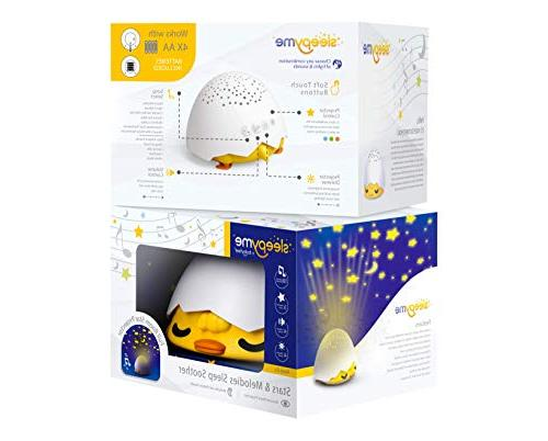 SleepyMe - Smart Sleep Soother Sound Star in Colors. Portable Sleep Light with Nature New Gift, from