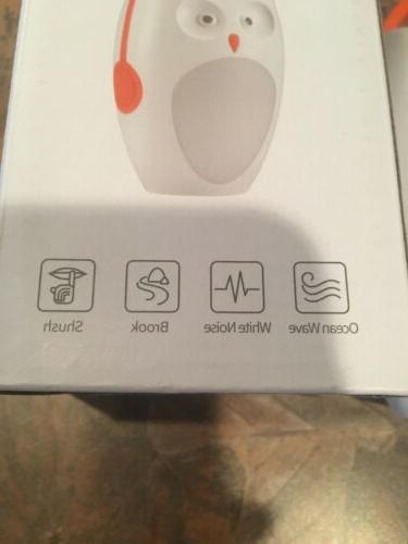 SOAIY Portable Sleep Soother Owl Noise Shusher Sound