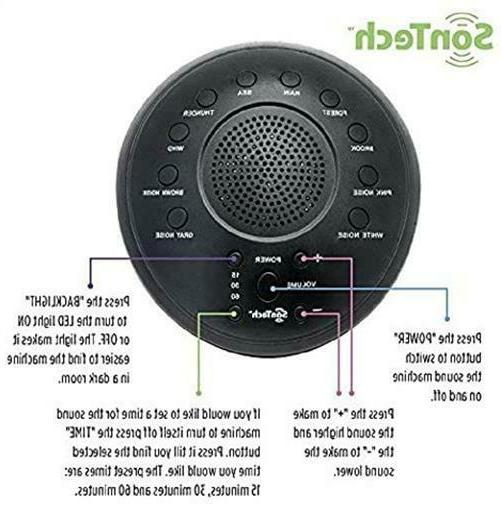 SonTech Sound Machine Natural Soothing Home,