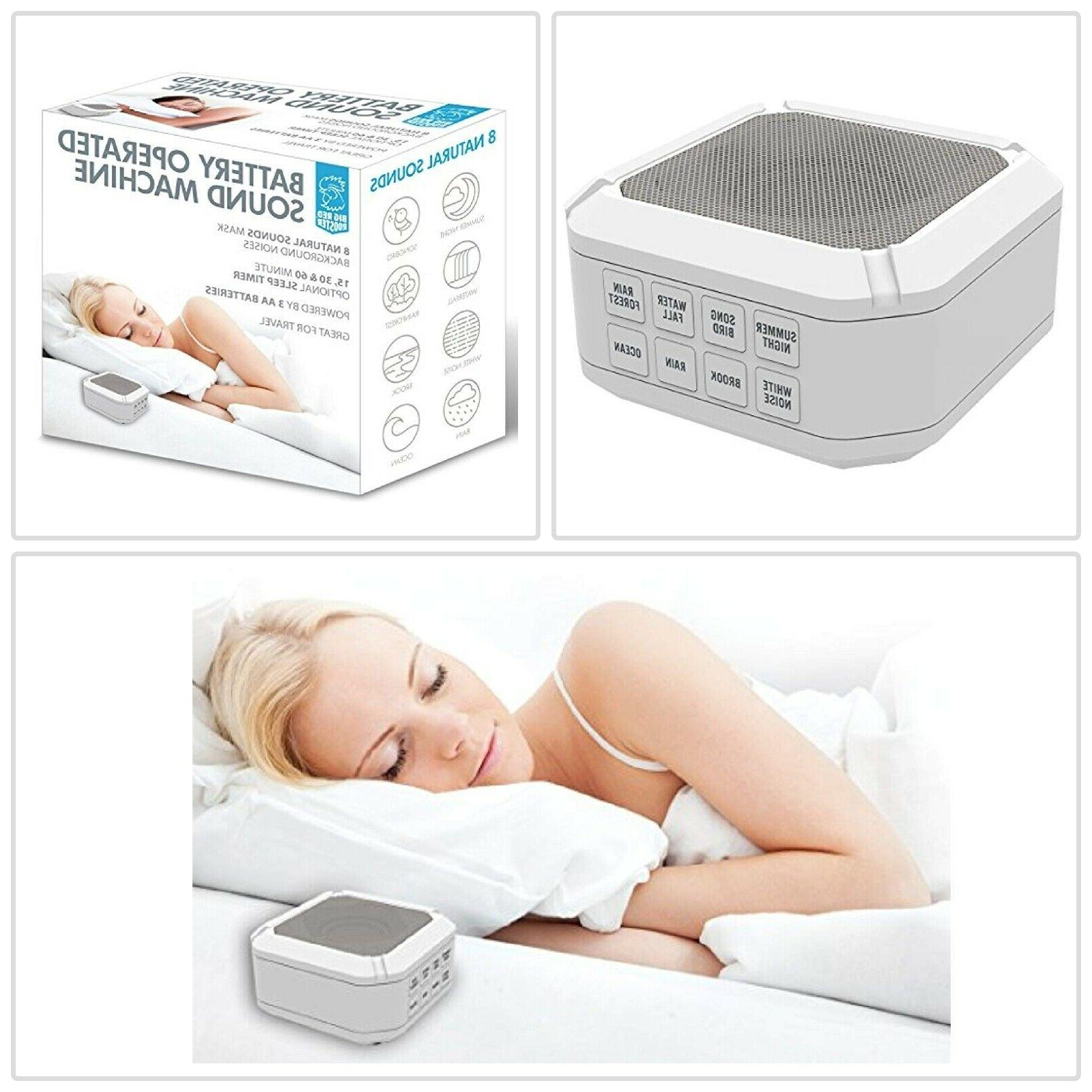 sound machine for sleeping aid and relaxation
