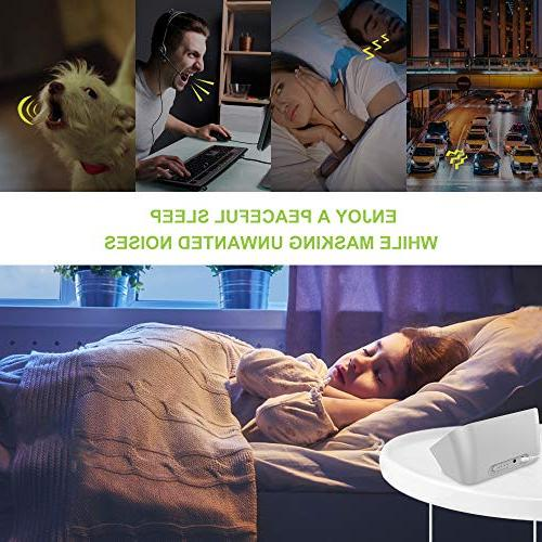 Housbay Sound White for Sleeping 28 Sounds Headphone Jack Quality Sleep Timer Baby Gray