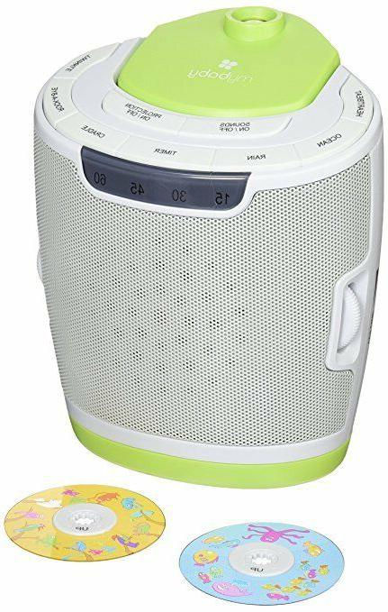 soundspa lullaby sound machine and projector w