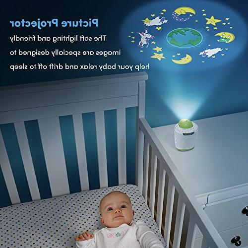 MyBaby, SoundSpa Machine | Choose | Picture Projector & 3 | & Timer
