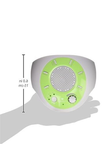 myBaby SoundSpa Plays Natural Sounds, Auto-Off Timer, Portable for New Traveler, Battery Adapter MYB-S200