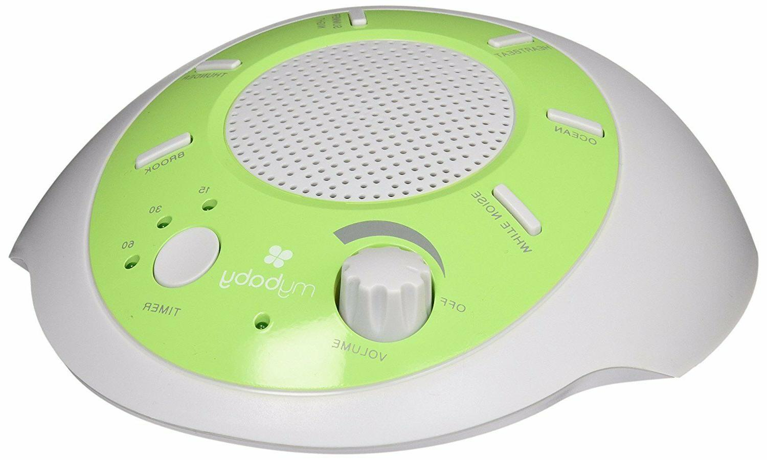 myBaby Machine, Plays Natural Auto-Off Timer, Portable for New Mother Traveler, Battery or MYB-S200