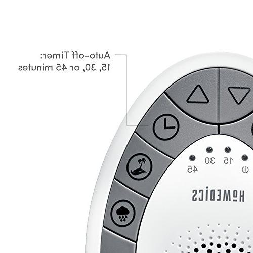 White Noise   Therapy for Home, Office, & Travel   Relaxing Soothing Sounds, Battery Timer