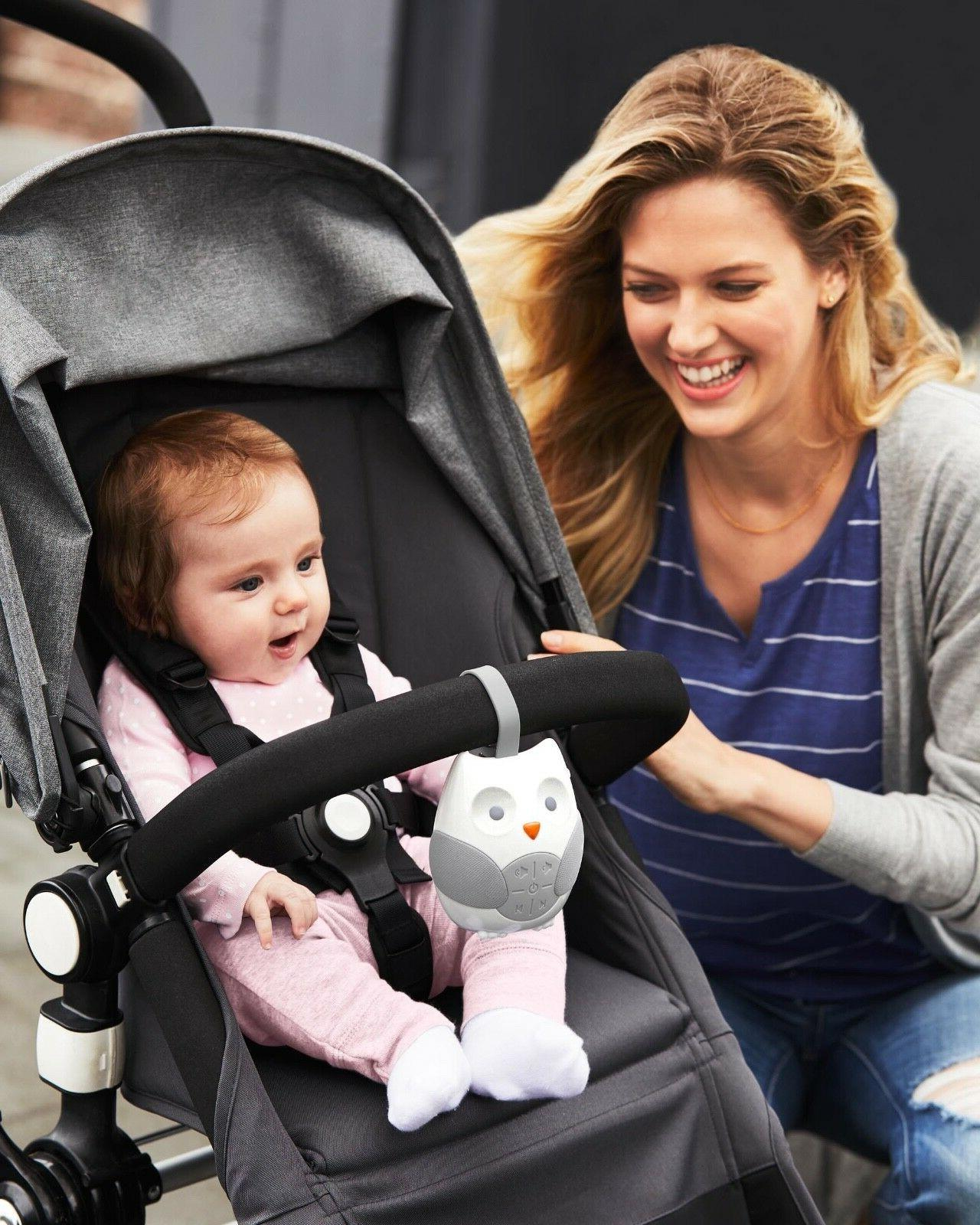 SKIP HOP Stroll Go Portable Owl Soother Stroller Seat