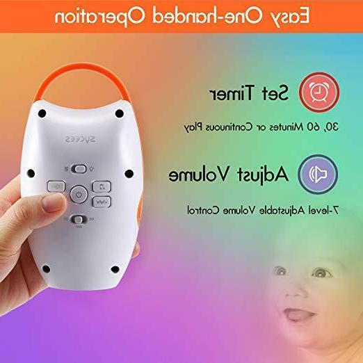 Sycces Portable Sleep Soothers Baby Sound Nightlight