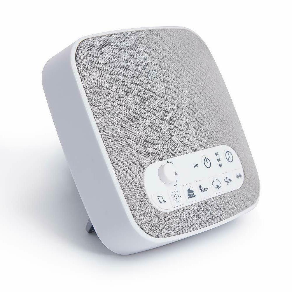 White Noise Generator Sound Machine Spa Easy Baby Therapy Kids