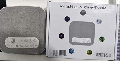 White Noise Sleeping, Aurola Machine Non-Looping Sounds Baby Traveler, Office Travel. Built in USB Timer