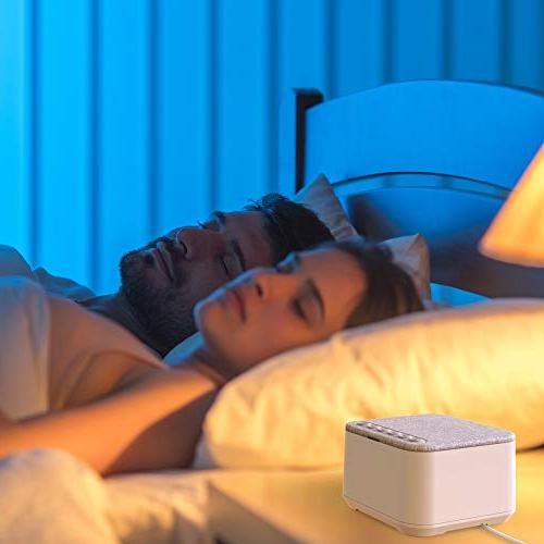 White Sleep Machine with 40 30 Levels and with Memory