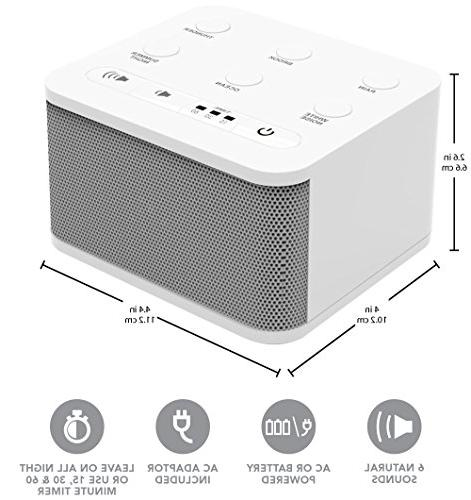 Big Red Noise - Machine Relaxation and - Plug In Powered Sound Therapy Office