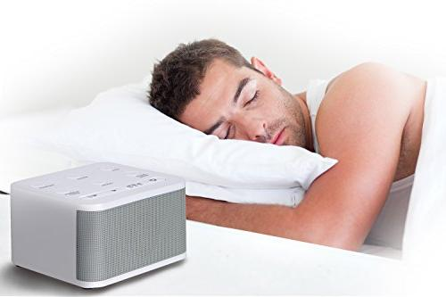Noise Machine - Machine For Relaxation 6 and Soothing Plug Or Battery Powered Office or