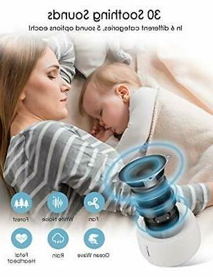 White Noise MOICO Sleep Sound for Baby Adults Natural S...