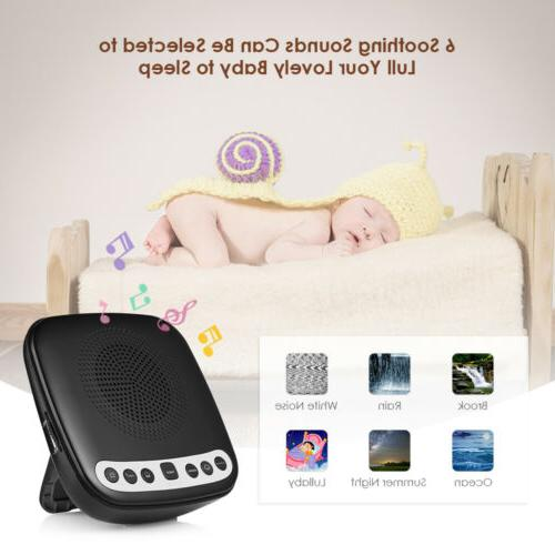 Inlife Portable Sleep Sound Therapy Machine with Voice People All Ages