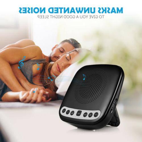 portable sleep sound therapy machine with 6