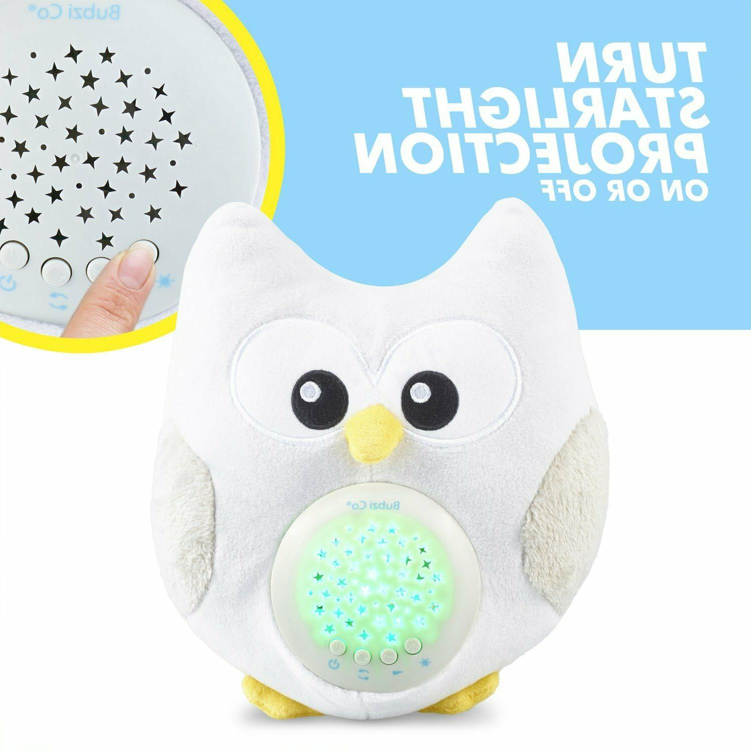 White Noise Sound & Aid Light. Gift, Woodland Owl