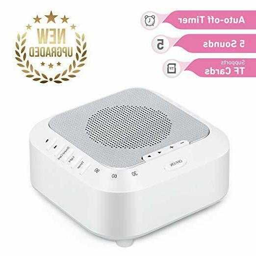 white noise sound machine for baby sleeping