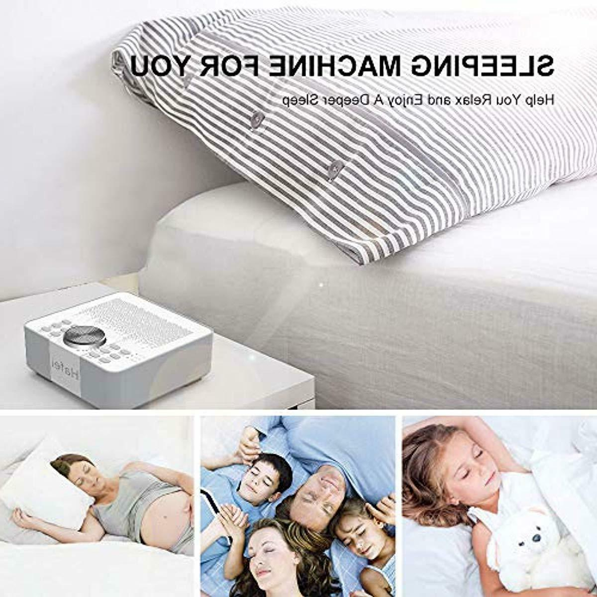 Hafei Sound Machine for Sleeping Non-Looping Soothing