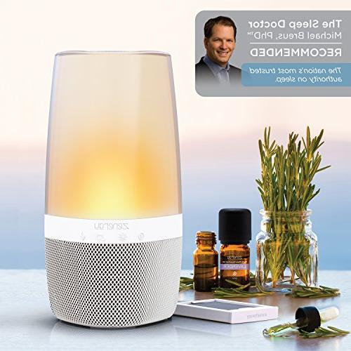 iHome Bluetooth Sound Open Your Light Therapy, Changing, Relax to Zen Therapy Soothing Aroma Therapy