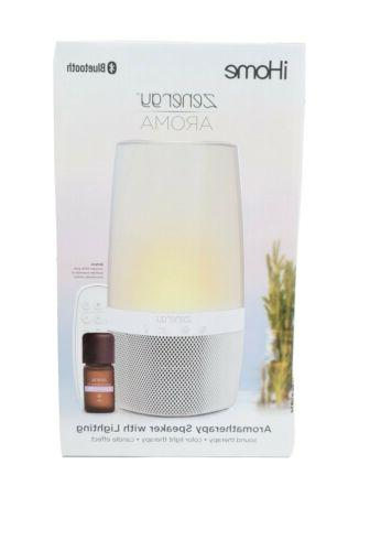 Bluetooth Speaker Open Therapy, Sound Therapy, Color Changing, Zen Therapy Sounds Aroma Therapy Oils