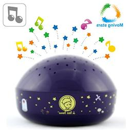 Le Petit Prince Moving Twinkle Stars Night Light Projector S