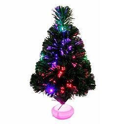 Light Christmas Tree 45CM LED Colourful Luminous Optical Fib