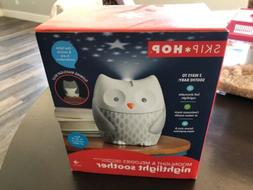NEW Skip Hop Moonlight & Melodies Owl Nightlight Soother