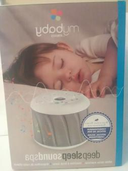 HoMedics MyBaby Deep Sleep SoundSpa Sleep Sound Machine Whit