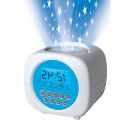 New Discovery Kids Light Projection Alarm Clock With Sound M