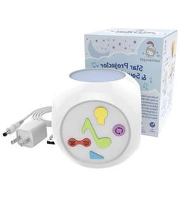 CalmKnight Star Projector Sound Machine with Cry Detect Bab