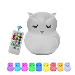 Night Light for Kids, Remote Control and Tap Control Night L