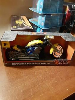 Mad Machines Nitro Burnout Chopper with Lights & Sounds Toy