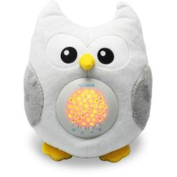 Owl Sound Machine Soother White Noise Baby Portable Night Li