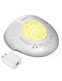 Kapebow Portable Noise Sound Machine and Night Light Baby, K