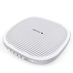 AuCuTee Portable White Noise Machine, 20 Soothing Sound & Me