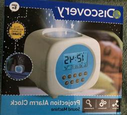 Discovery Projection Alarm Clock Sound Machine
