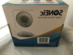 SONEic SC1350 Sleep Machine Blue NEW Factory sealed White No