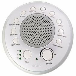 SONEic Sleep, Relax, Focus Sound Machine. 10 Soothing White
