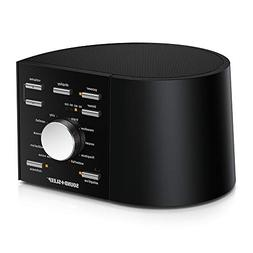 Sound+Sleep High Fidelity Sleep Sound Machine with Real Non-