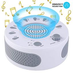 Sleep Therapy White Noise Sound Machine Polysomnography Devi