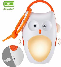 Rechargeable Baby Sleep Soother Shusher Sound Machines, Whit