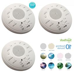 Sontech WHITE Noise Sound Machine 10 Natural Soothing Tracks