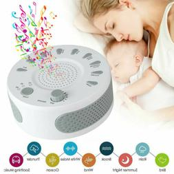 Sleep Sound Machine for Kids Adults 9 Soothing Sounds & 3 Ti