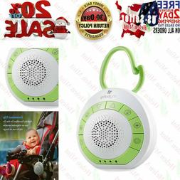 Sound Machine White Noise Generator Spa Easy Sleep Baby Rain